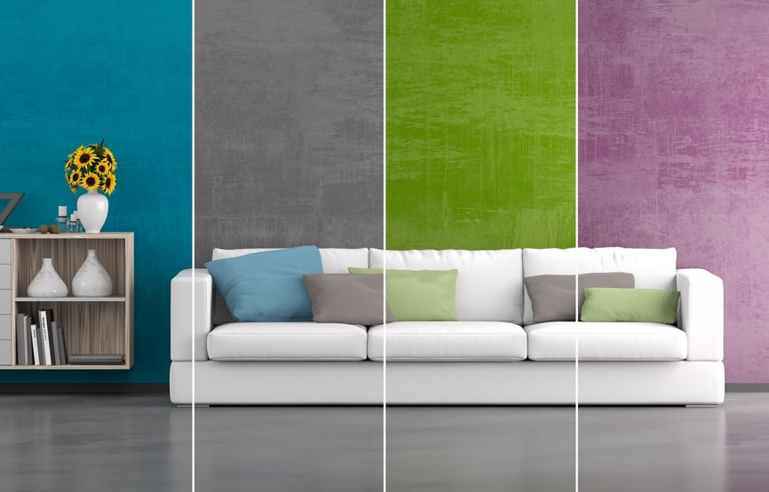 Farbwirkung und -gestaltung: Diese Farben passen in Ihre Räume