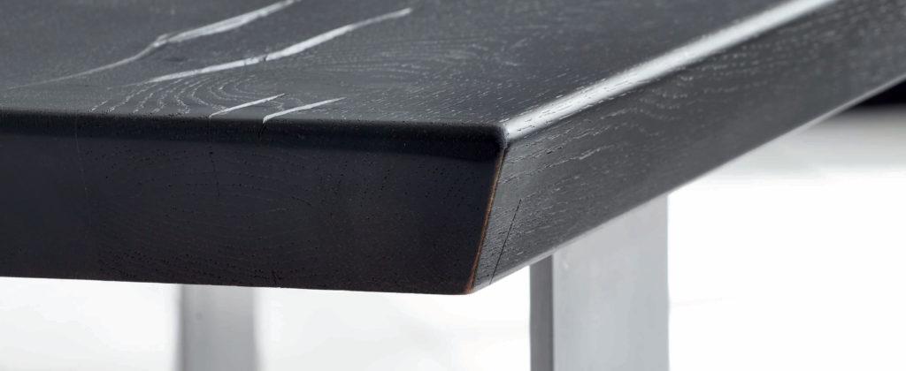 Tischplatte mit schweizer Kante 4cm von Bodahl