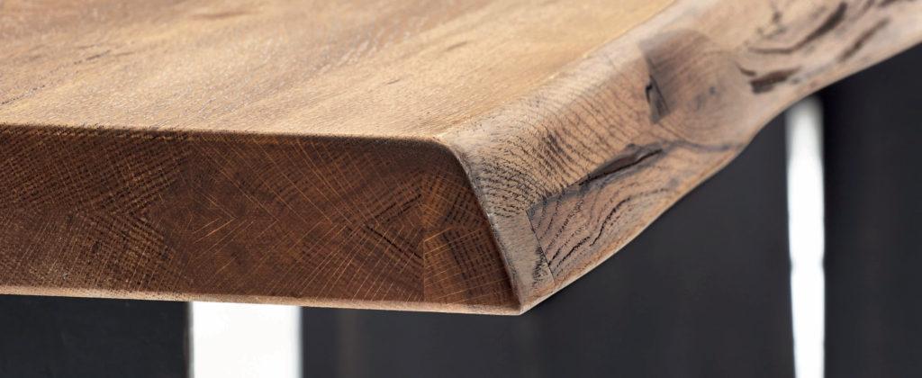 Bild einer Baumkante in gefräster Ausführung