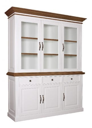 Buffetschrank Landhausstil York Shabby chic Oak 3 Türen 103