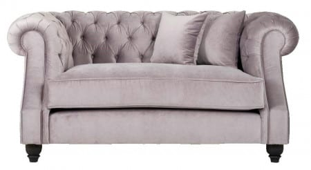 Sofa Landhaus Old Boulevard Velours grey