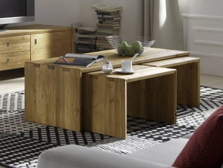 camilla 3 couchtisch gro 2 kleine massivholz kernbuche. Black Bedroom Furniture Sets. Home Design Ideas