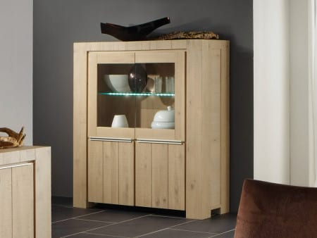 Highboard Skagen Wildeiche beach