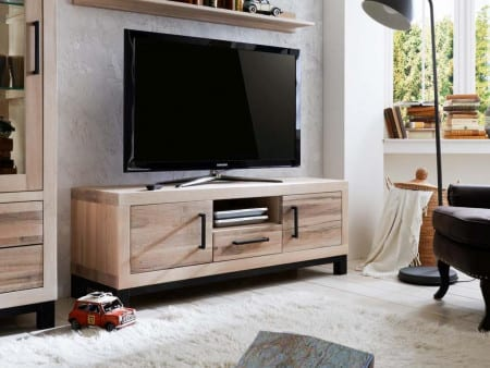 TV-Bank massiv Factory 154cm