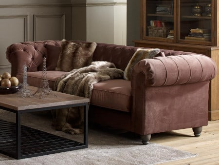 Sofa Landhausstil Springfield Chesterfield Couch