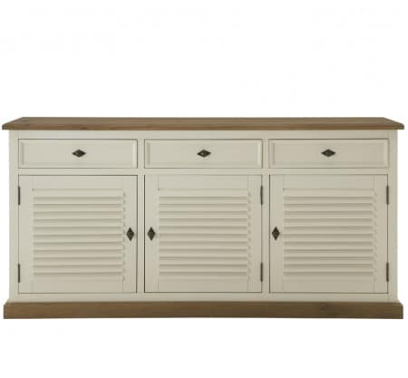 Sideboard New-Orleans massiv 3+3