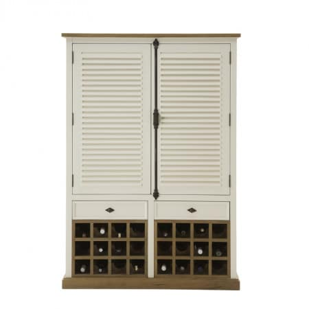 Highboard New-Orleans mit Weinregal
