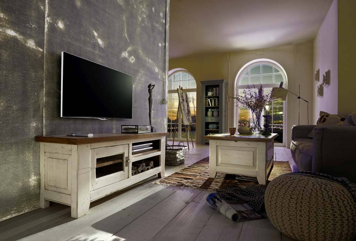 tv tisch eiche ariege massiv pickupm. Black Bedroom Furniture Sets. Home Design Ideas