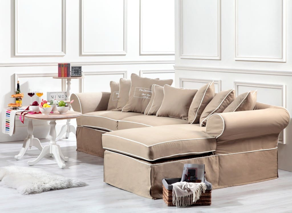 Ecksofa mit schlaffunktion landhausstil for Ecksofa landhausstil
