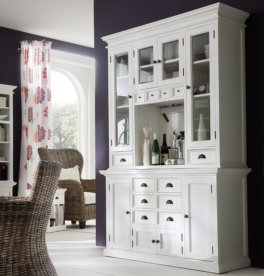 aufsatzbuffet halifax landhaus weiss vintage pickupm. Black Bedroom Furniture Sets. Home Design Ideas