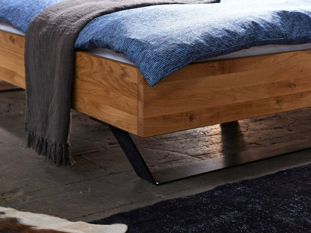 Bett Eiche Massiv Modern Sleep 1 Pick Up Mbel