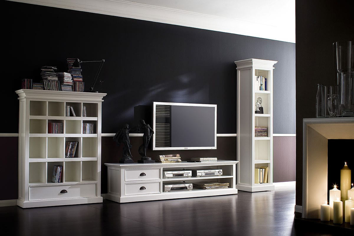 halifax cd dvd regal weiss von novasolo pick up m bel. Black Bedroom Furniture Sets. Home Design Ideas