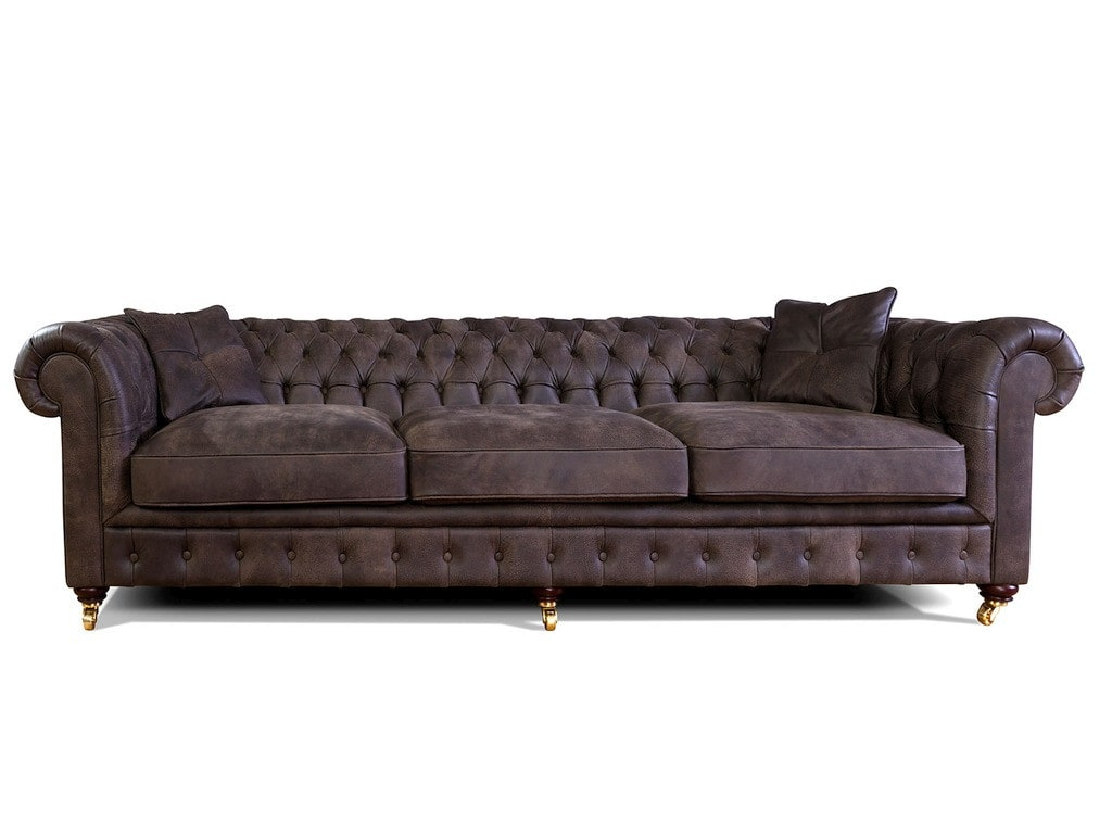ledersofa chesterfield xl als 4 5 sitzer online bestellen pick up m bel. Black Bedroom Furniture Sets. Home Design Ideas