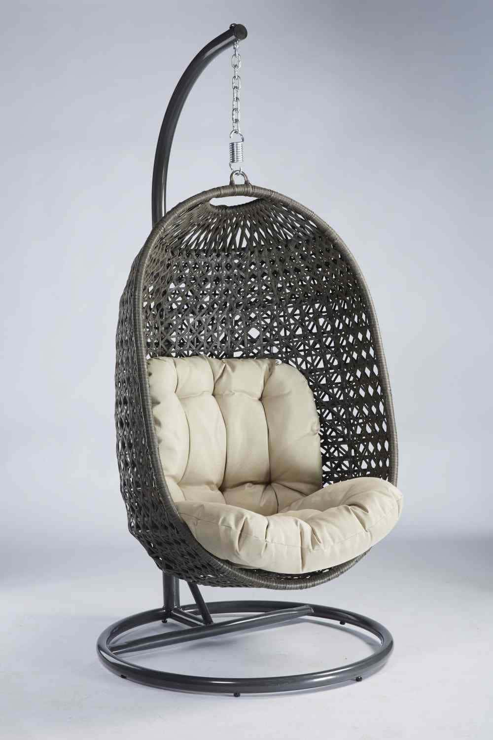 h ngesessel aus polyrattan der cocoon von destiny pick up m bel. Black Bedroom Furniture Sets. Home Design Ideas