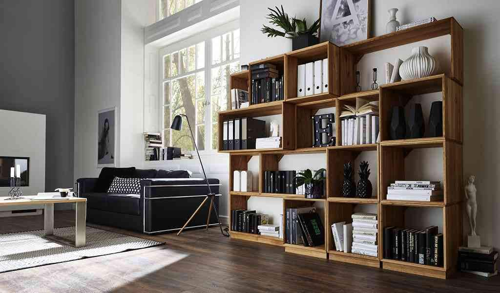 cubeit b cherregal wildeiche massiv pickupm. Black Bedroom Furniture Sets. Home Design Ideas