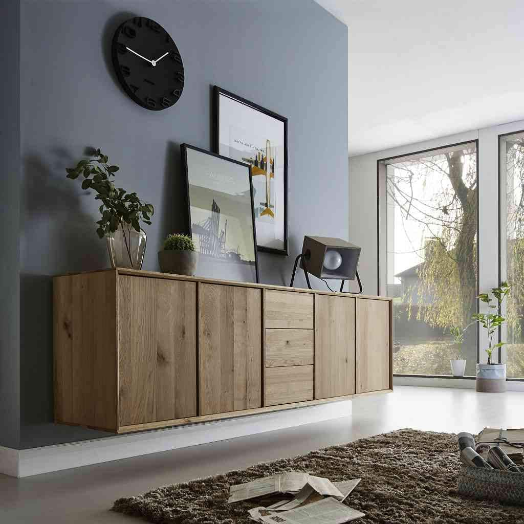 cubeit kommode 4 t ren 3 schubladen wildeiche massiv pick up m bel. Black Bedroom Furniture Sets. Home Design Ideas