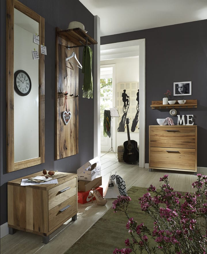 kommode eiche rockit garderobe 2 sch be eiche massiv pick up m bel. Black Bedroom Furniture Sets. Home Design Ideas
