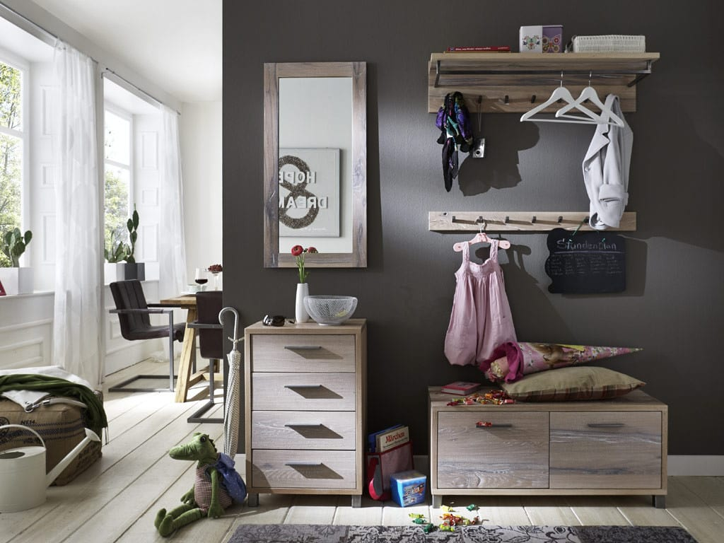 hutablage eiche rockit garderobe breite 100 cm massiv pick up m bel. Black Bedroom Furniture Sets. Home Design Ideas