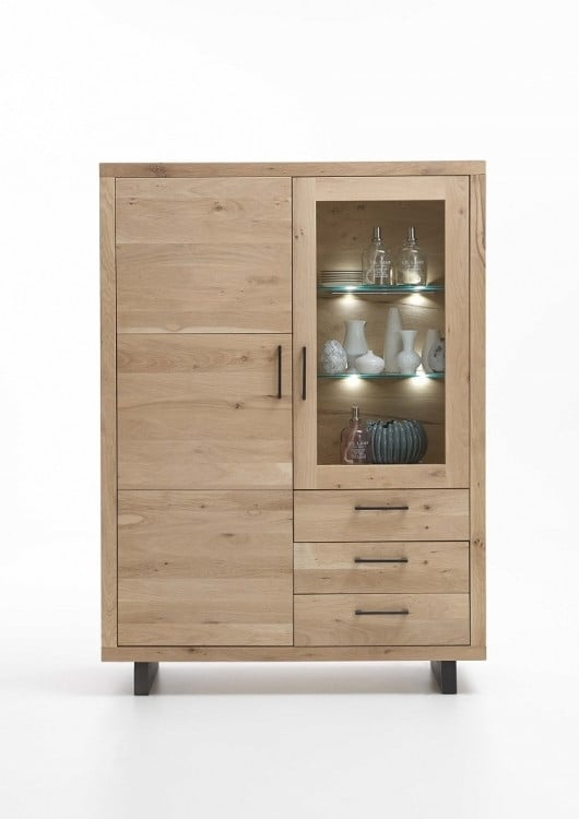 highboard woodstock wildeiche massiv online bestellen pick up m bel. Black Bedroom Furniture Sets. Home Design Ideas