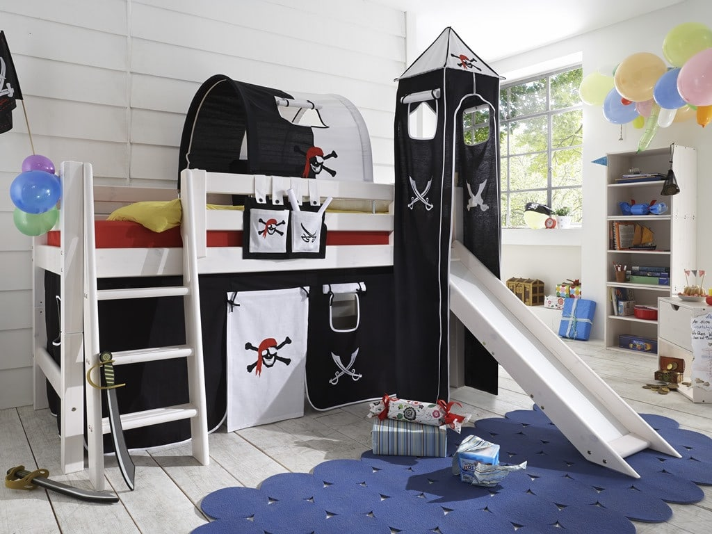 kinderbett junge pirat. Black Bedroom Furniture Sets. Home Design Ideas