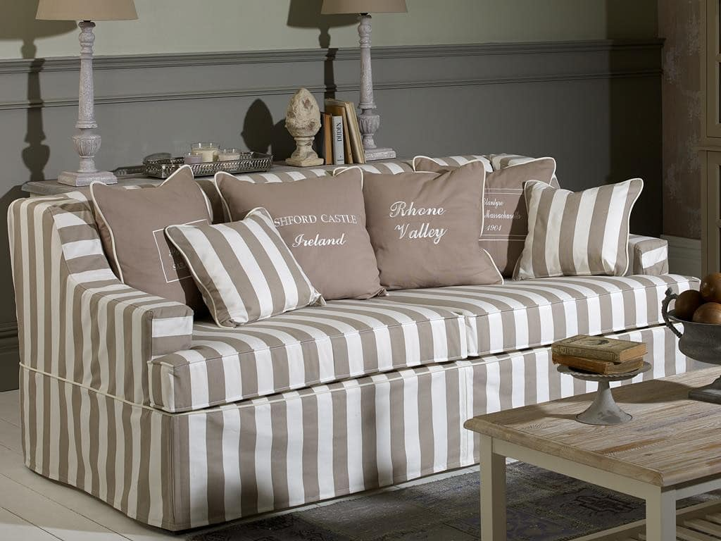 Hussensofa Virginia Landhausstil Sofa Coastalhomes G 252 Ntig