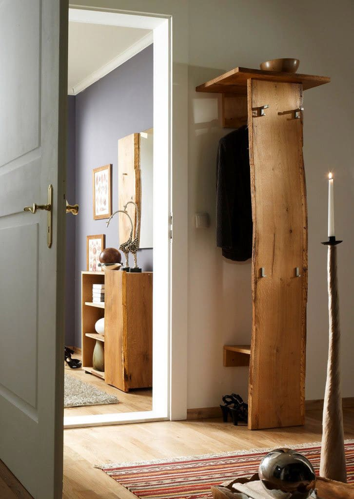 garderobe massiv woodline eiche hutablage pick up m bel. Black Bedroom Furniture Sets. Home Design Ideas