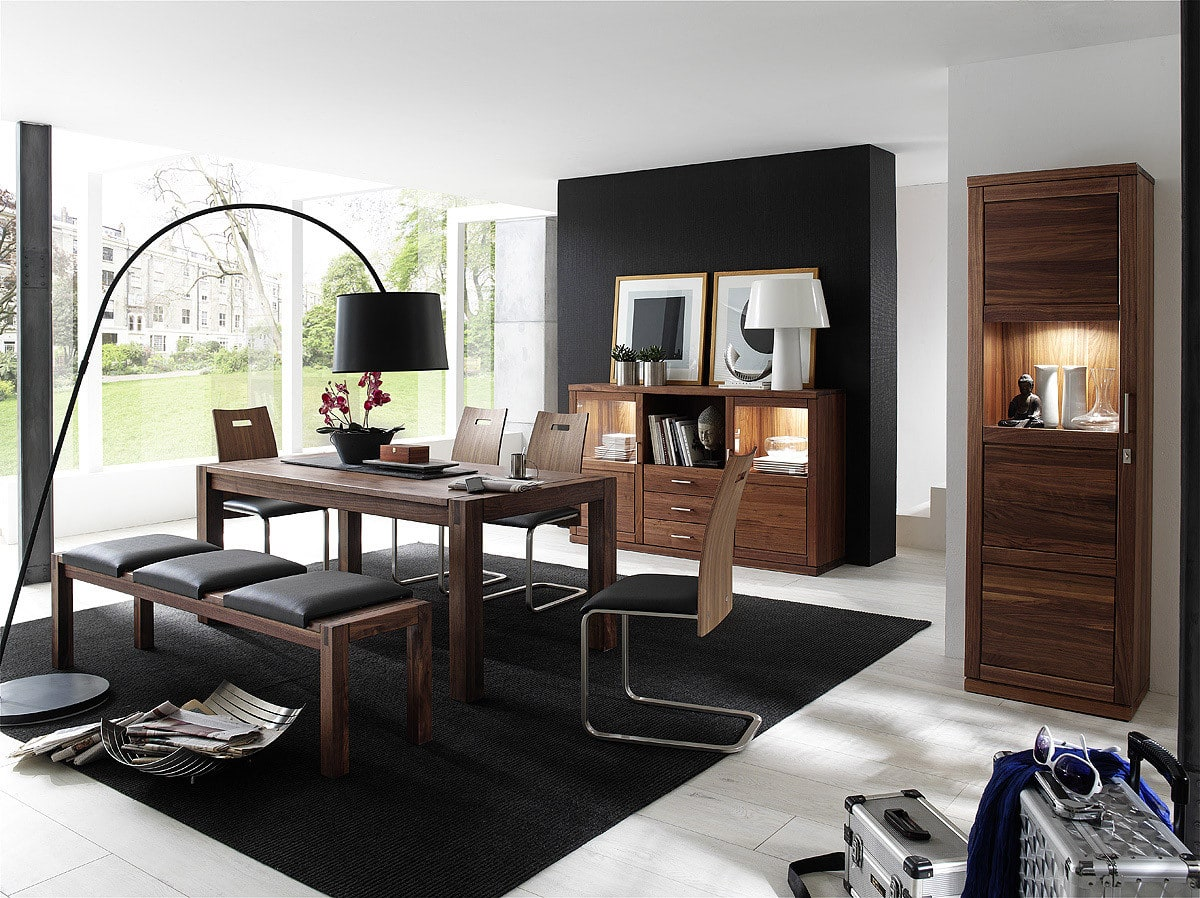 vitrine massivholz bianca dudinger m bel g nstig online. Black Bedroom Furniture Sets. Home Design Ideas