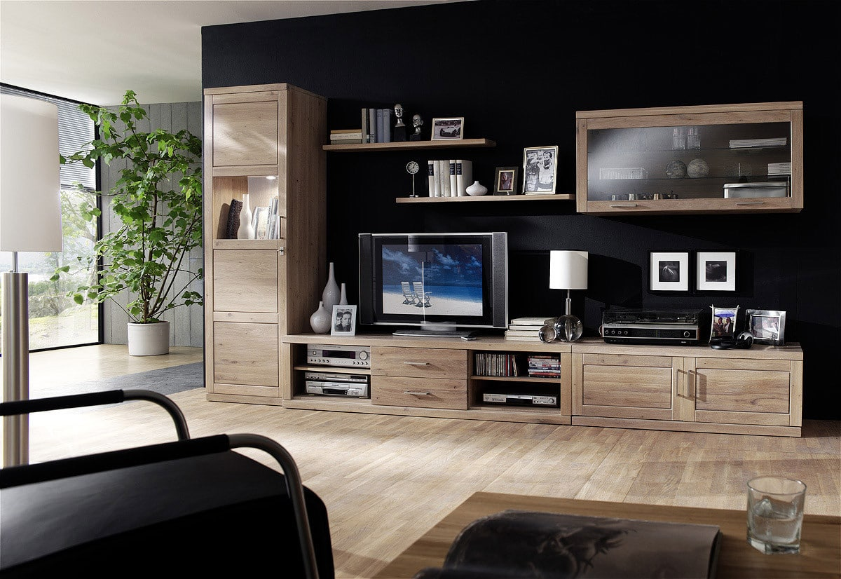 h ngevitrine massiv bianca von dudinger 3 holzarten pick up m bel. Black Bedroom Furniture Sets. Home Design Ideas