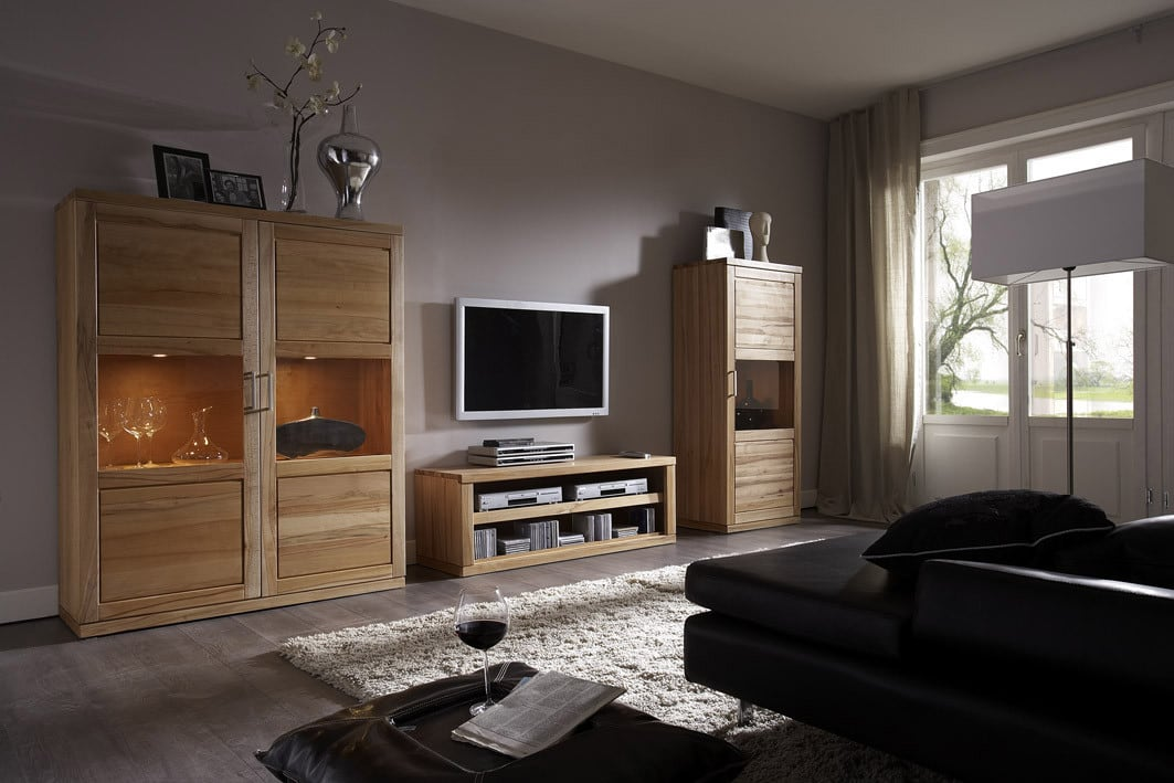 highboard massiv bianca mit 2 t ren von dudinger. Black Bedroom Furniture Sets. Home Design Ideas