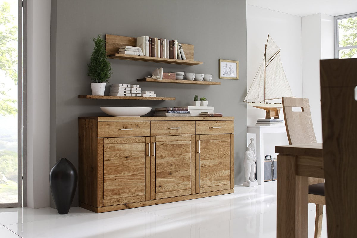 highboard massiv bianca mit 2 t ren von dudinger pick up m bel. Black Bedroom Furniture Sets. Home Design Ideas