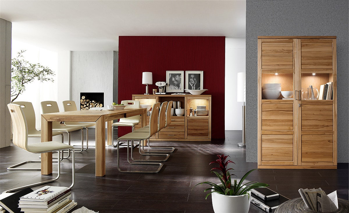 vitrinenschrank bianca von dudinger m bel g nstig online kaufen pick up m bel. Black Bedroom Furniture Sets. Home Design Ideas