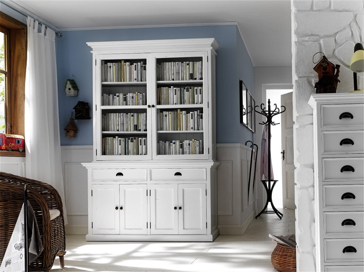 buffet halifax landhaus weiss im landhausstil pickupm. Black Bedroom Furniture Sets. Home Design Ideas