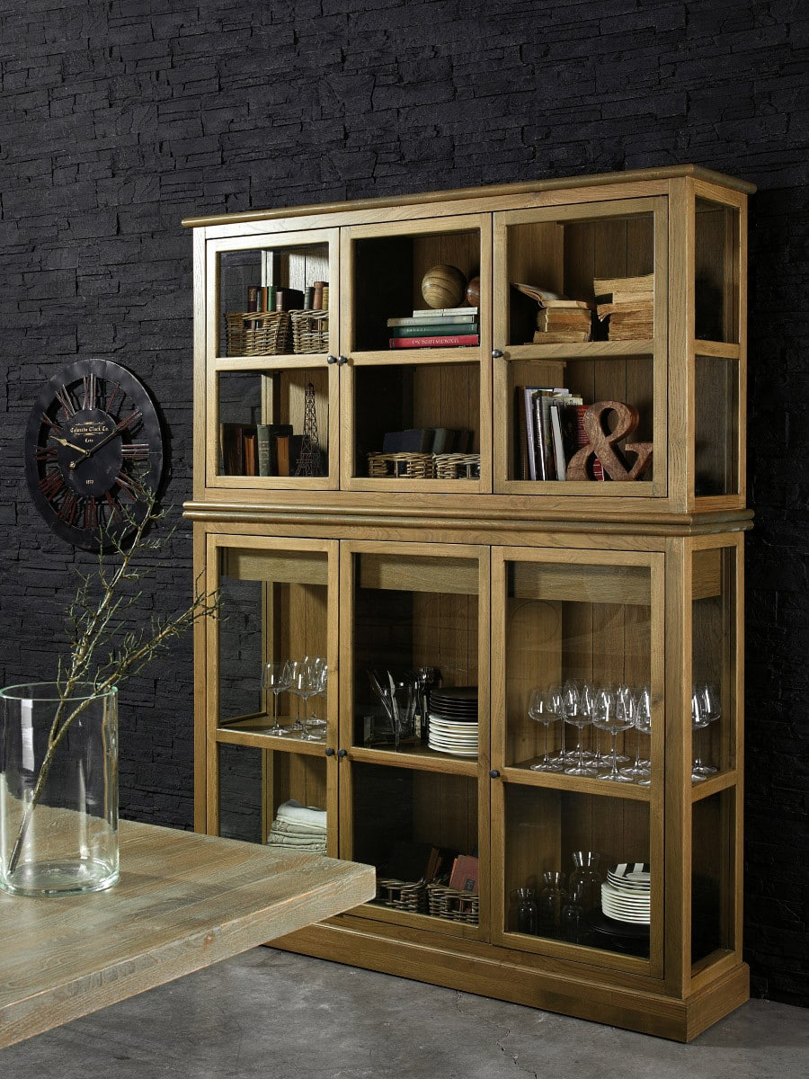 vitrine maryland landhaus pickupm. Black Bedroom Furniture Sets. Home Design Ideas