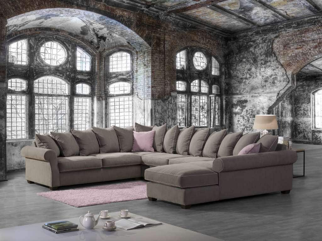 landhaus ecksofa montreal chaiselongue lose kissen. Black Bedroom Furniture Sets. Home Design Ideas