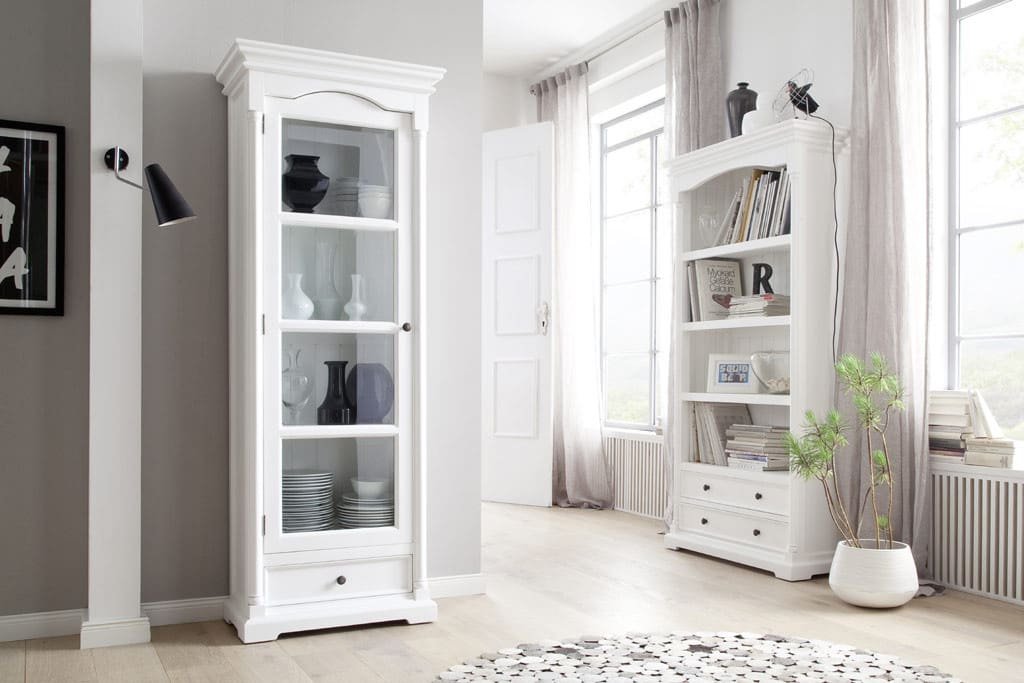 regal provence shabby chic weiss pickupm. Black Bedroom Furniture Sets. Home Design Ideas