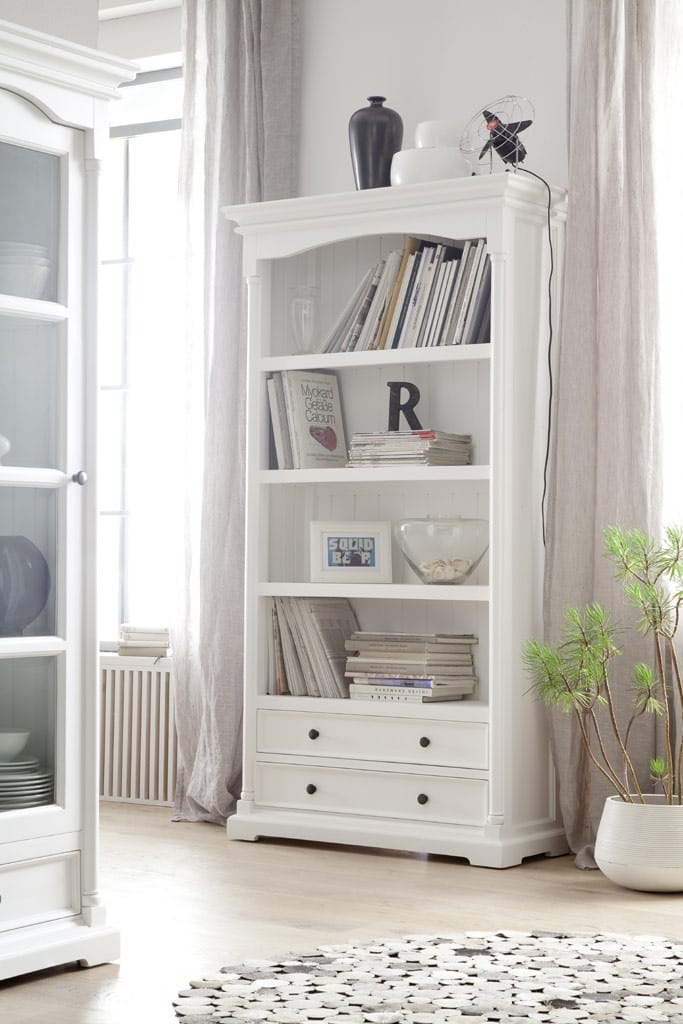 regal provence shabby chic weiss pick up m bel. Black Bedroom Furniture Sets. Home Design Ideas