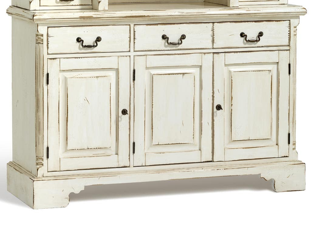 sideboard york shabby chic creme massiv fichte pick up m bel. Black Bedroom Furniture Sets. Home Design Ideas