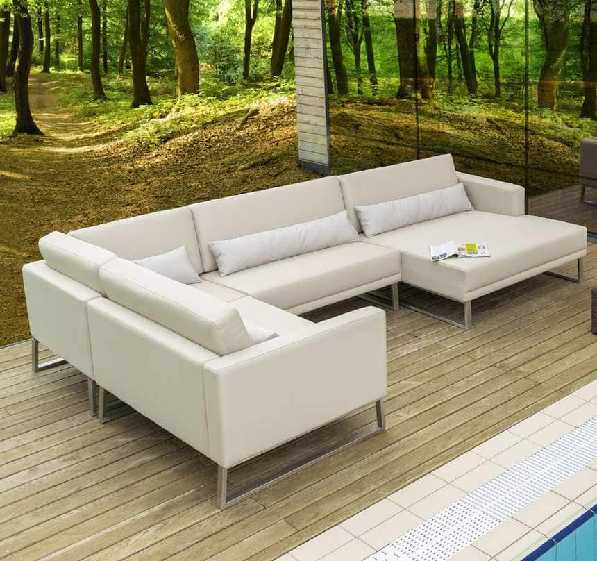 das sierra design gartensofa f r wintergarten und terasse pick up m bel. Black Bedroom Furniture Sets. Home Design Ideas