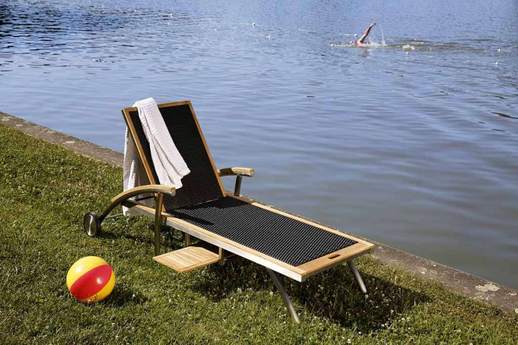 Sonnenliege Polyrattan. Poly Rattan Liege With Sonnenliege ...