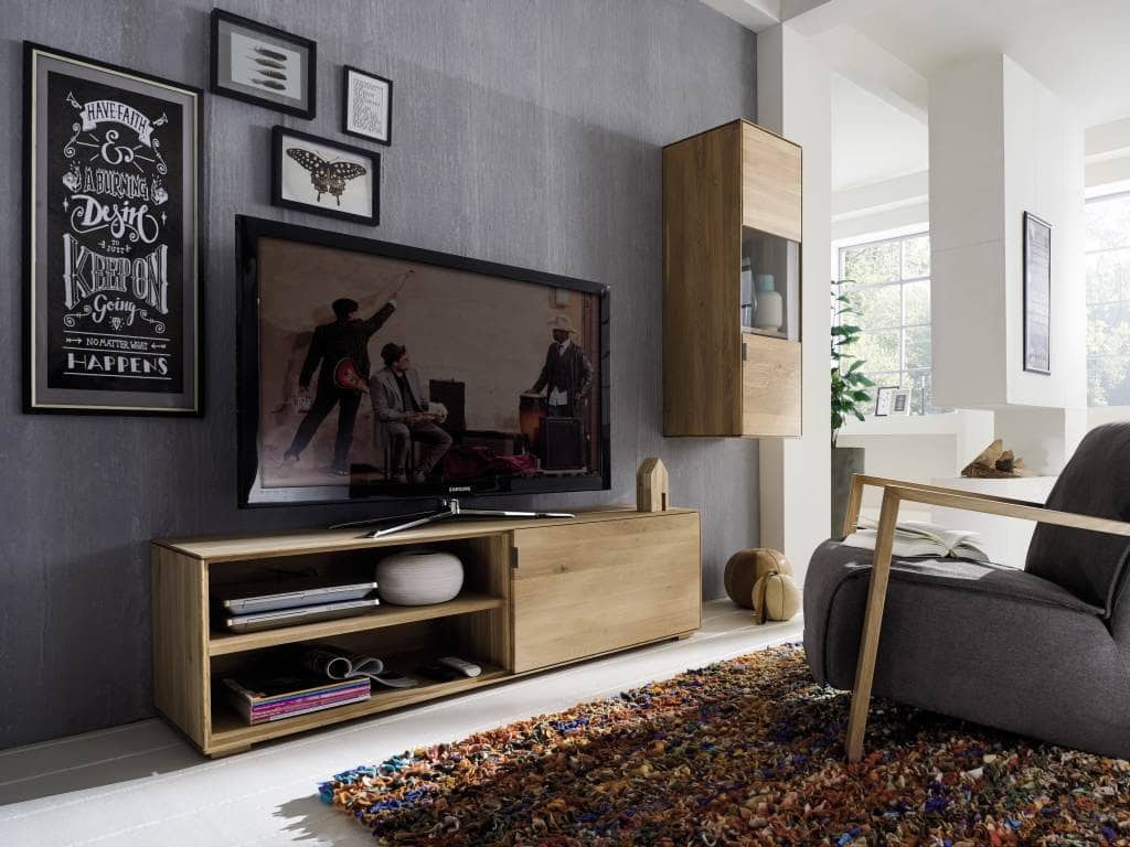 tv kombination lyon wildeiche massiv 2 teilig pick up m bel. Black Bedroom Furniture Sets. Home Design Ideas