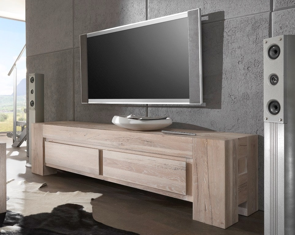tv lowboard venti massiv 180 cm breit pickupm. Black Bedroom Furniture Sets. Home Design Ideas