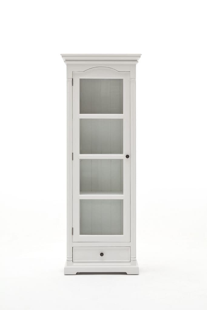 vitrine provence shabby chic weiss pickupm. Black Bedroom Furniture Sets. Home Design Ideas
