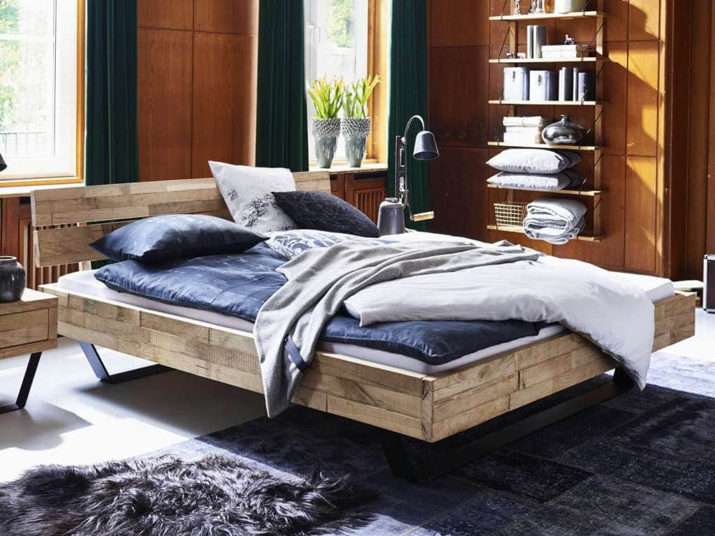 bett eiche massiv timber kufen modern sleep pick up m bel. Black Bedroom Furniture Sets. Home Design Ideas