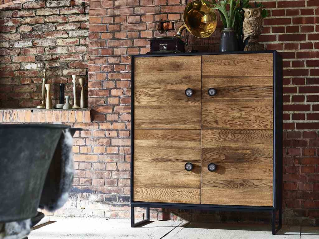 bodahl palermo highboard eiche massiv 4 t ren pick up m bel. Black Bedroom Furniture Sets. Home Design Ideas