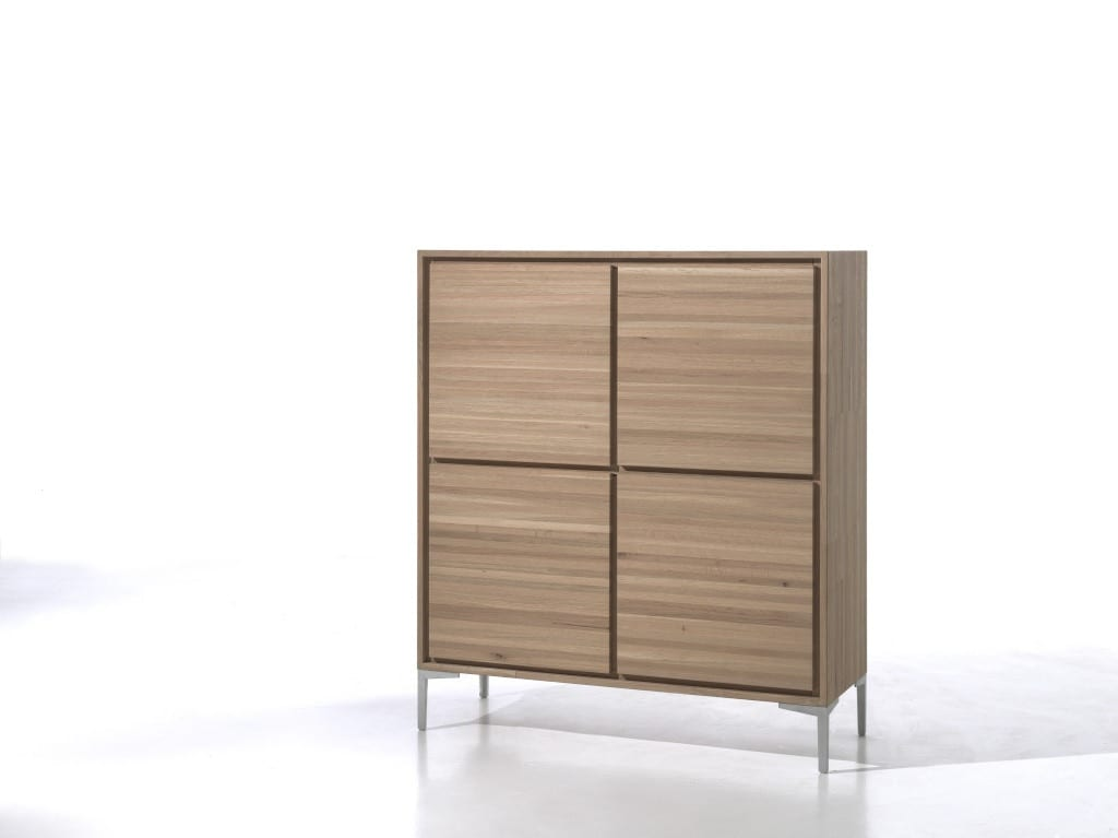 highboard canyon eiche massiv ca2 highboard canyon eiche massiv metallfe ca2