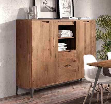 highboard sirena massiv eiche jetzt online bestellen pick. Black Bedroom Furniture Sets. Home Design Ideas
