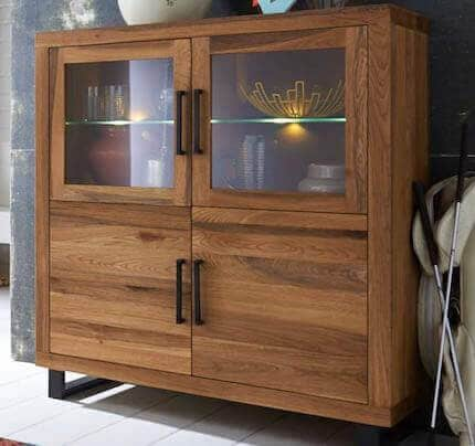 Highboard NATURE Balkeneiche von Bodahl