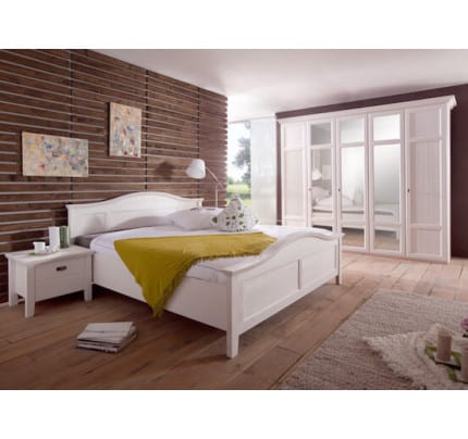 doppelbett rome pinie weiss 180x200cm pick up m bel. Black Bedroom Furniture Sets. Home Design Ideas