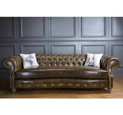 Chesterfield Landhausstil Sofa Wilford Country Classic