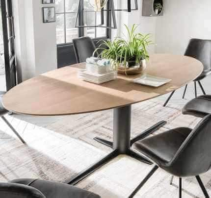 Design Meetingtisch Kontor oval